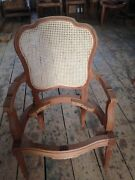 French Design Cane Back Chair By Fandg Fine Furniture