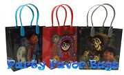 24 Pc Disney Pixar Coco Party Favor Bags Candy Treat Birthday Gift Toy Loot Sack