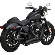Vance And Hines Big Radius Exhaust For 2014-2017 Harley Sportster Xl Black