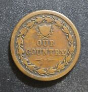 1861-65 Our Country Civil War Tokens.