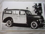 1939 Ford Woody Station Wagon 11 X 17 Photo Picture