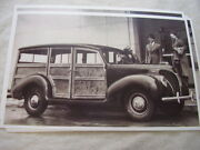 1938 Ford Woody Station Wagon 11 X 17 Photo Picture