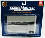 Ho Scale Walthers Scenemaster 949-2212 Ups United Parcel Service 45' Trailers