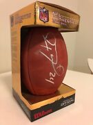 Ryan Mathews San Diego Chargers Signed Autographed Nfl Football
