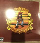 Kanye West Signed Autographed College Dropout W Proof Yeezy