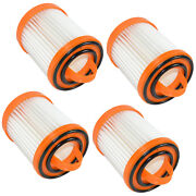 4-pack Dust Cup Filter For Eureka Litespeed Whirlwind Series Bagless Vac Cleaner