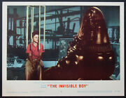 The Invisible Boy Sci-fi Robby The Robot Closeup 1957 Lobby Card 4