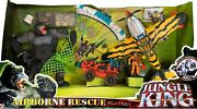 Chap Mei Giant Gorilla Airborne Rescue Playset Action Figure Apes King Airplane