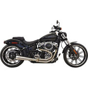 Bassani Road Rage 3 Exhaust For 2018 Harley Softail Breakout Fat Boy Stainless