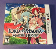Lord Of Magna Maiden Heaven Launch Edition Nintendo 3ds 2015