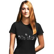 90s Nineties Chick - Crystal Ladies Fitted T Shirt - 1990s Party - Any Size