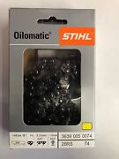 26rs 74 Stihl New Chainsaw Chain Saw 18 In. .325 .63 74 18 Inch Blade Aggressive