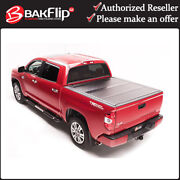 Bakflip G2 Cover 226411 For 2007-2020 Toyota Tundra 8and039 Long Bed W/o Track System