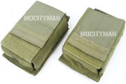 Eagle Heavy Scar 7.62 Fort Bragg Single Mag Pouch Kydex Khaki - Lot Of 2 - New