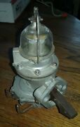 Vintage Fuel Pump With Sediment Sight Glass And Nos Filter Insert - Rat Custom Rod