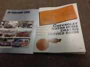 1988 1989 Chevrolet Motor Home Chassis Service Guide Manual Oem Gm Factory Set