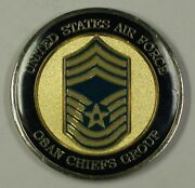 United States Air Force Usaf Osan Chiefs Group Challenge Coin 21
