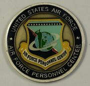 Usaf Air Force Personnel Center Challenge Coin Presented By The Commander 32