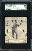 1937 O-pee-chee 128 Odell Hale Sgc 84 Near Mint - Lionel Carter Collection