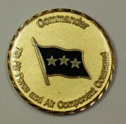 Usaf 7th Air Force And Air Component Command Commander Challenge Coin 58