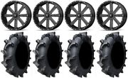 Msa Milled Flash 20 Atv Wheels 35 Interforce 628 Tires Sportsman Rzr Ranger