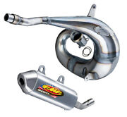Fmf Exhaust - Factory Fatty Pipe And Shorty Silencer - Honda Cr250r - 2005-2007