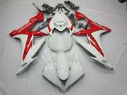 Abs Injection Fairing Kit Fits Yamaha Yzf R1 2004-2006 Half Tank Coverandseat Cowl