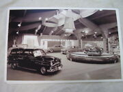 1952 Plymouth Auto Show Display 11 X 17 Photo Picture