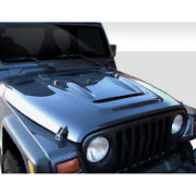 Heat Reduction Hood Must Be Used With Highline Fenders 1 Piece Fits Jeep