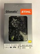 33rs 84 Stihl New Chainsaw Chain Saw 25 In. 3/8 .50 84 25 Inch Blade Aggressive
