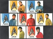 Star Trek 40th Anniversary Delta Shield Patch Card Set Ds1-ds7 All 275/350