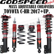 Godspeed Mmx3910 Maxx Coilovers Camber P Suspension Kit For Toyota C-hr 2018-20