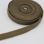 10mm15mm Fiber Titanium High Heat Protect Sleeve 10ft Sleeving Ignition Wire