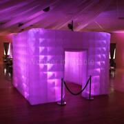 12and039x12and039x9and039 Inflatable Photo Booth With Led Lights