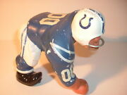 1960and039s Baltimore Colts Large Size 3 Point Stance Fak Kail Statue