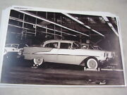 1955 Oldsmobile On Assembly Line 11 X 17 Photo Picture