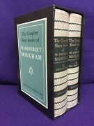 The Complete Short Stories W. Somerset Maugham Ω1952, 2 Vol.slipcase Free Ship