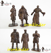 Assassinand039s Creed Red Bronze Collectible Miniature Figure 40mm Mega Rare Set