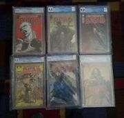 The Walking Dead 44 92 100 2nd Print 103 108 And 127 Cgc 9.8