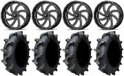 Msa Mil Switch 20 Atv Wheels 35 Interforce 628 Tires Can-am Renegade Outlander