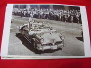 1952 Studebaker Commander Conv And Pres. Eisenhower 11 X 17 Photo Picture