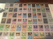 Complete Neo Discovery Set Pokemon Cards 75/75 In Near Mint Condition