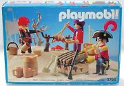 Pirates Team Playmobil 3794 V. `90 For Suckling Pig Chinese Boxed New Rarity