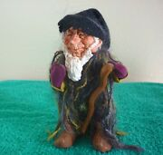Simpich Character Doll Collectible Old Moss, Elder Of The Elves, Rare. Signed.