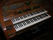 Lowrey Organ With Full Keyboards 20 Pedals And All The Boom Chicka Boom