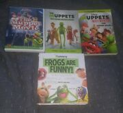 Muppet Movie/book Lot And Muppet Show Dvd Set