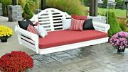 Poly Lumber Wood 4 Ft Marlboro Swing Bed- Multiple Color Options- Made In Usa