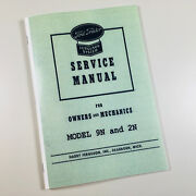 Ford 9n 2n Tractor Service Manual Owners Mechanics Shop Book Ferguson System