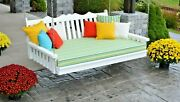 Poly Lumber Wood 5 Ft Royal English Swing Bed-multiple Color Options-made In Usa