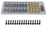 Rocker Arms Bronze Bushing Trunion Kit W/ Bolts For Chevrolet Gen Iii Iv Engines